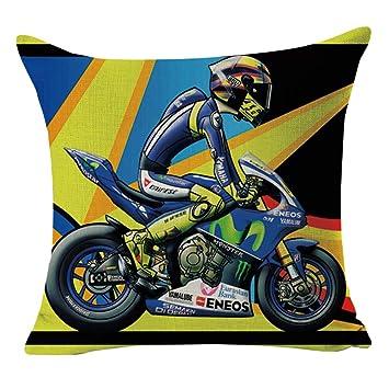 Frohe Weihnachten Motorrad.Sdjbz Marke Kissenbezug Drucken Bunte Cartoon Motorrad