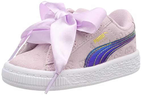 Puma Minions Suede Heart Fluffy Inf, Zapatillas para Niñas: Amazon.es: Zapatos y complementos