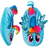 HighPoint My Little Pony Slippers Kids Girls Rainbow Babba Fuzzy Slipper
