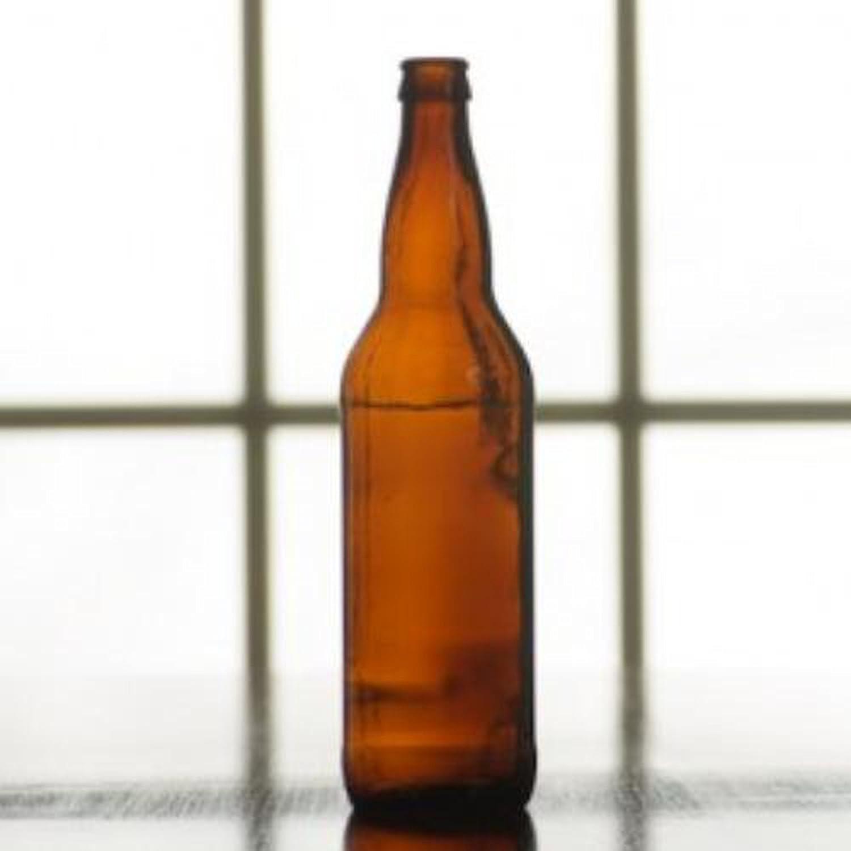 22oz Brown Beer Bottles, 12x22oz