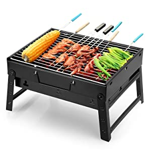 Uten Portable Lightweight Simple Charcoal Grill