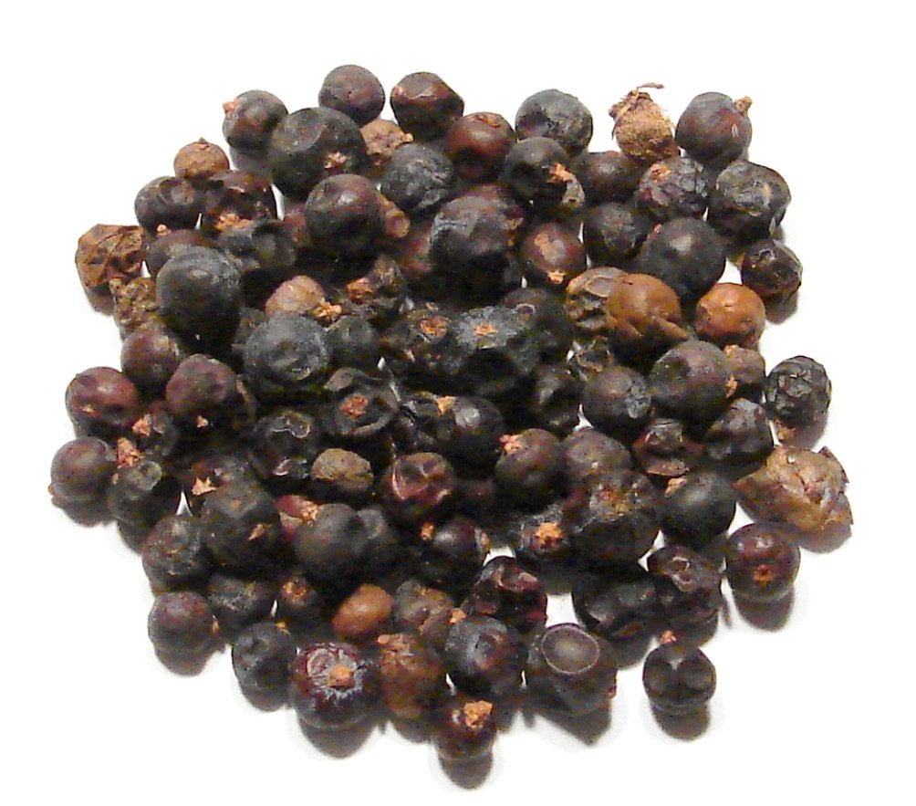 Juniper Berries, Whole - 1 Pound (16 Ounces) - Dried Juniper Spice - Gin Flavoring Botanical