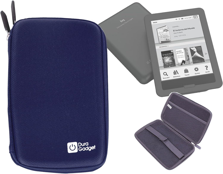 DURAGADGET Funda Azul Rígida con Cierre De Cremallera para eBook ...