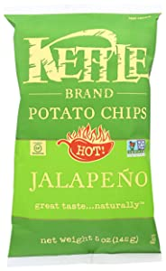 Kettle Foods Chip Potato Nat Jalapeno, 5 oz