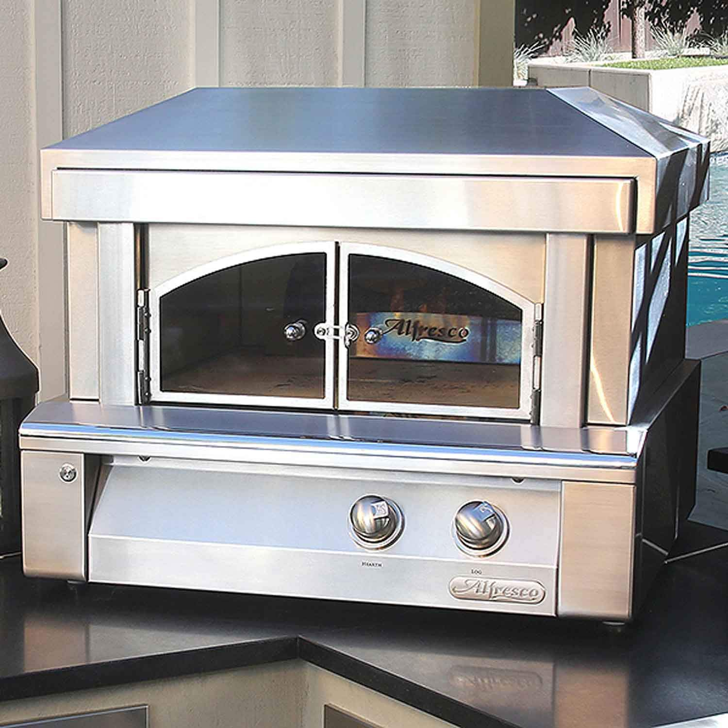 Alfresco Built-in Pizza Oven