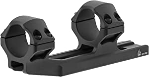 UTG ACCU-SYNC30mm Integral Picatinny Rings, Matte Black, Medium