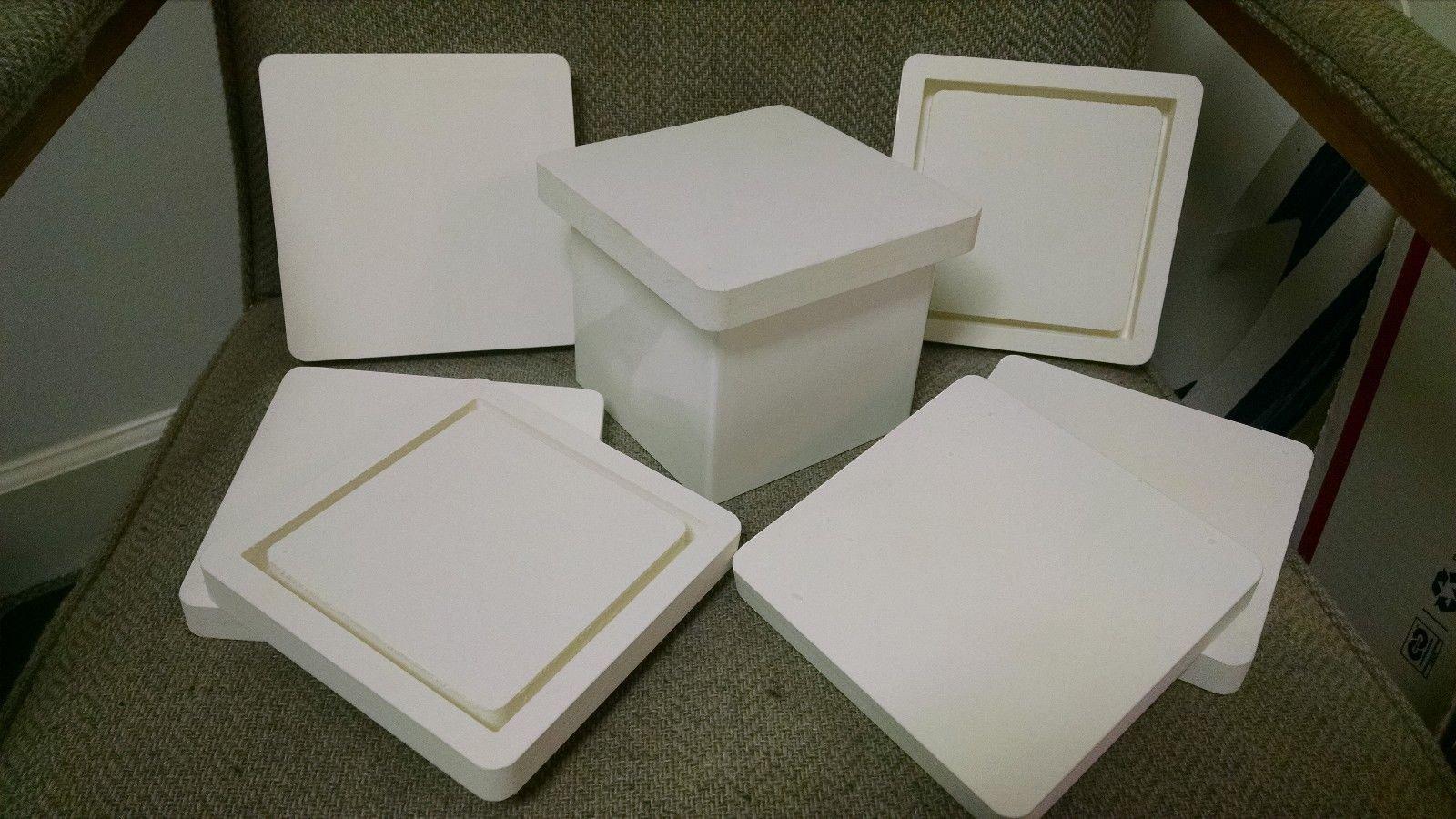 5x5 PVC POST CAP FOR BIRD OR LIGHTHOUSE MOUNT