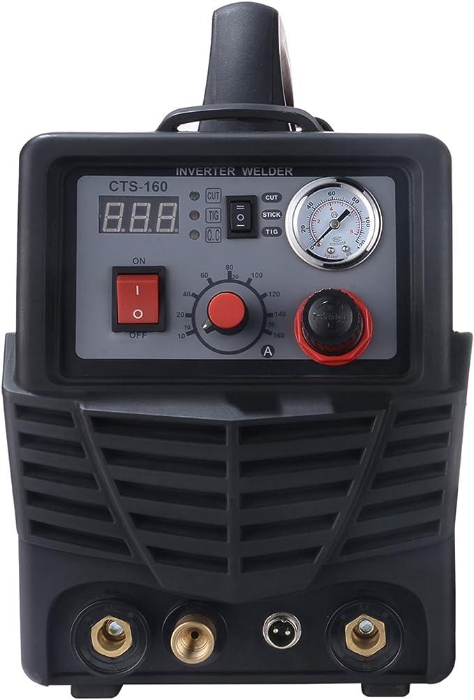 CTS-160 160 Amp TIG-Torch//Stick Arc Welder 30 Amp Plasma Cutter 3-in-1 Welding