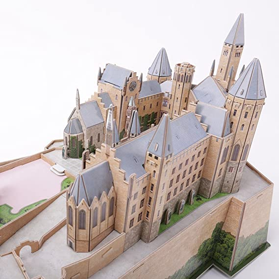 3D Puzzle Castle of Hohenzollern Cubic Fun Schloss Germany Castillo de hohenzollern: Amazon.es: Juguetes y juegos