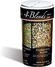 Original WhistleStop Cafe Recipes | 4-Blends Seasoning | 3.55-oz | 1 4-in-1 Shaker