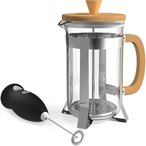 Amazon.com: Vremi French Press - Cafetera de 8 tazas con ...