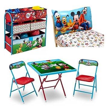 Amazon Com 2 Piece Mickey Mouse Sheet Set 2 Piece Chair
