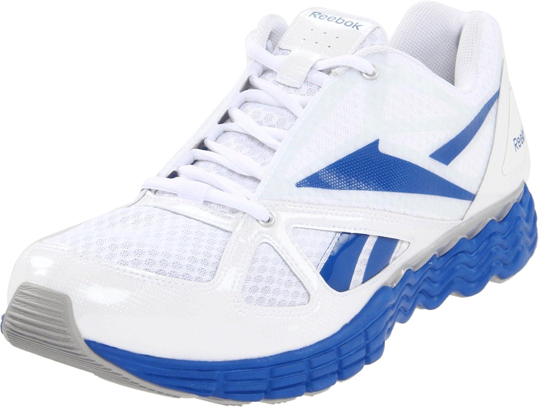 Reebok Men's Solarvibe Running Shoe B004IS4RK4 11 D(M) US|White/Silver/Buff Blue