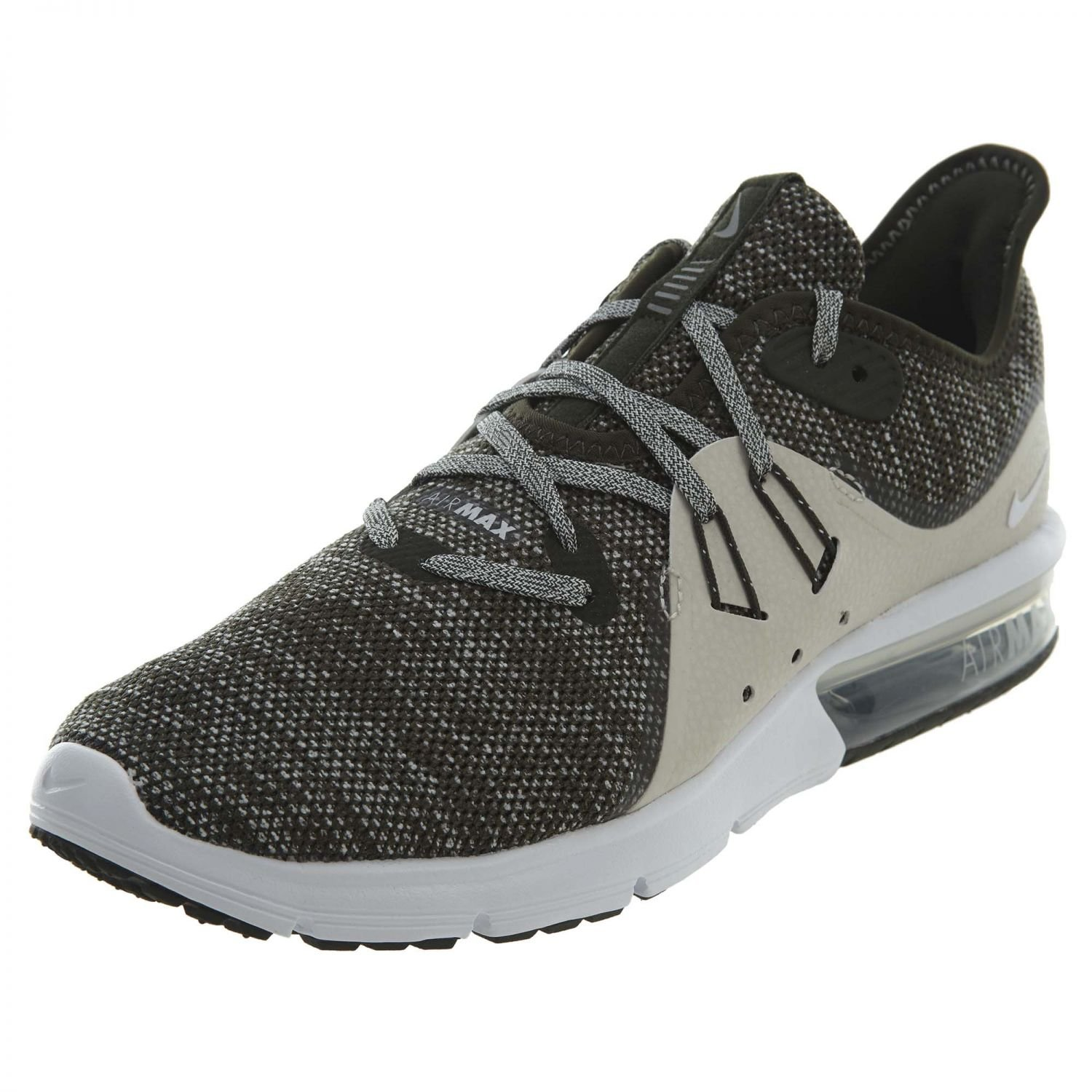 A buon mercato all'ingrosso Nike Air Max Sequent 3 Uomo Running Sequoia/Summit Bianco