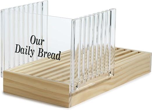Amazon.com: Norpro, cortador de pan con recogedor de migas ...