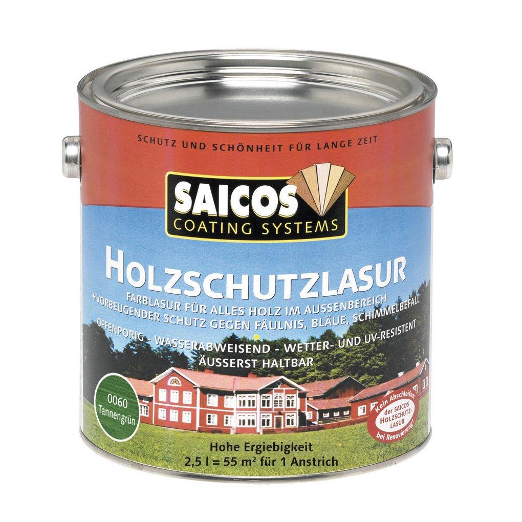 Saicos 0031 301 Holzschutzlasur lä rche 0.75 Liter