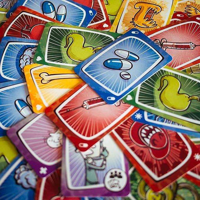 Juego de Cartas VIRUS de Tranjis Games Original 4 Idiomas ...