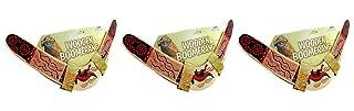 Rhode Island Novelty. Wooden boomerang colori possono variare 3confezione