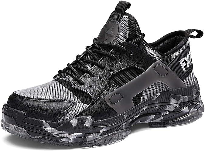 GJRRX Hombre Zapatillas Running Hombre Zapatillas Deportivas Hombre de Cordones en Gimnasio Zapatillas Running para Hombre Aire Libre y Deporte Transpirables Casual Zapatos Gimnasio 39-44: Amazon.es: Zapatos y complementos