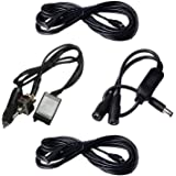 Two cable a manual switch the double control thread For Electric Exhaust Cutout