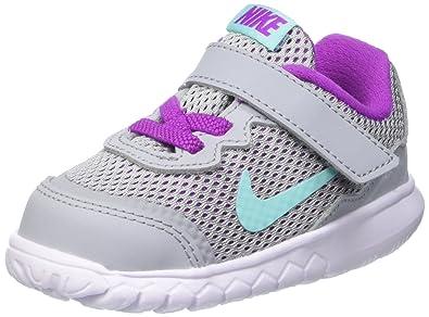 cbcbcaf8f4 Nike Girls' Baby Boys' Flex Experience 4 (TDV) Low-Top Sneakers Grey ...