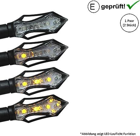 Led Blinker Kompatibel Mit Honda Vt 750 C Black Widow X4 Vt 600 C Shadow E Geprüft 2stück B17 Auto