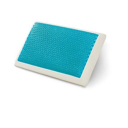 amazon com comfort revolution hyrdraluxe memory foam bed pillow rh amazon com