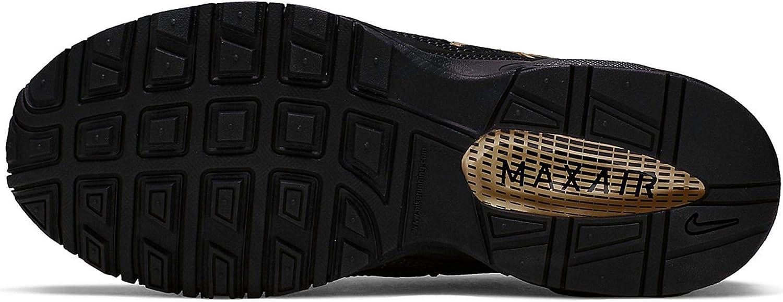 Nike NSW Rally - Pantaloni Lunghi da Donna con Logo Nero E Oro Metallizzato