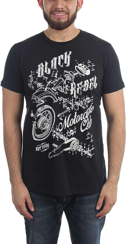 Camiseta Graciosa de Black Rebel Motorcycle Club para Hombre: Amazon.es: Ropa y accesorios