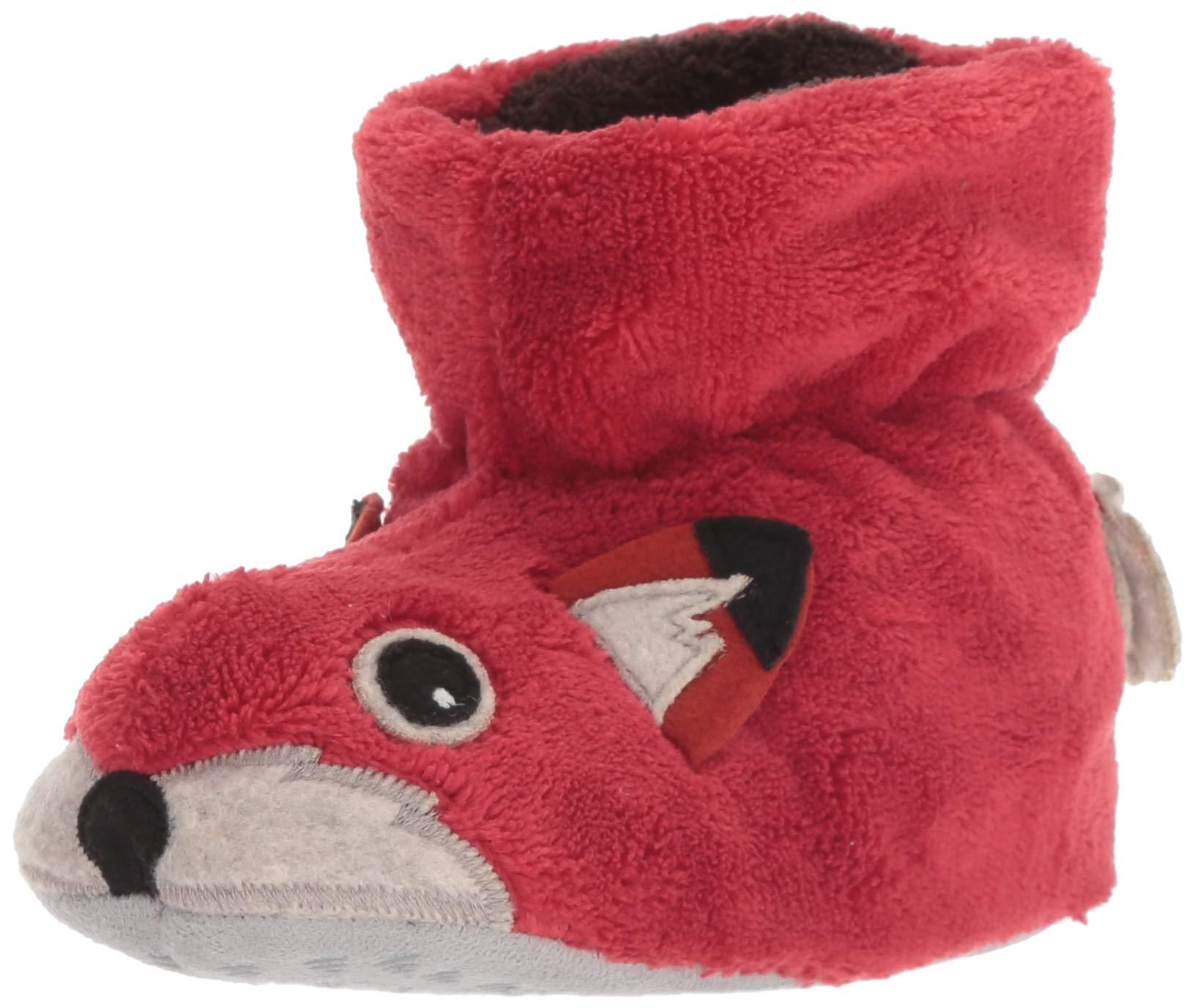 ACORN Baby Easy Critter Kids Bootie Slipper, XL, Red Fox by Acorn