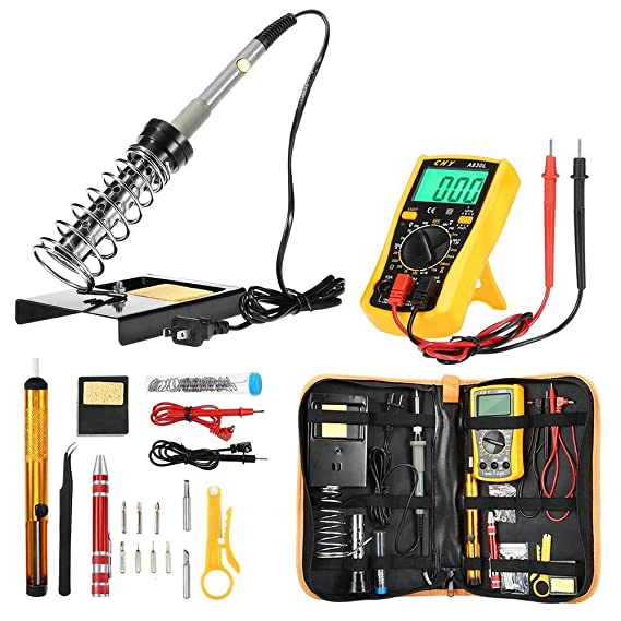 Review Soldering Iron Kit Electronics,
