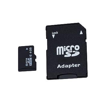 Amazon.com: TOOGOO (R) tarjeta de memoria SD de 4 GB Micro ...