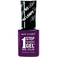 Wet n Wild Wet n Wild 1 Step WonderGel Nail Polish - Under My Plum, 7 ml