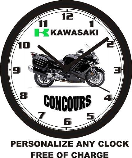 Kawasaki Concours reloj de pared -- libre EE. UU. Barco