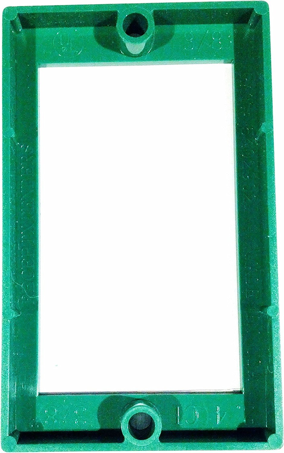 Electrical Receptacle Box Extender 3//8 Single Gang