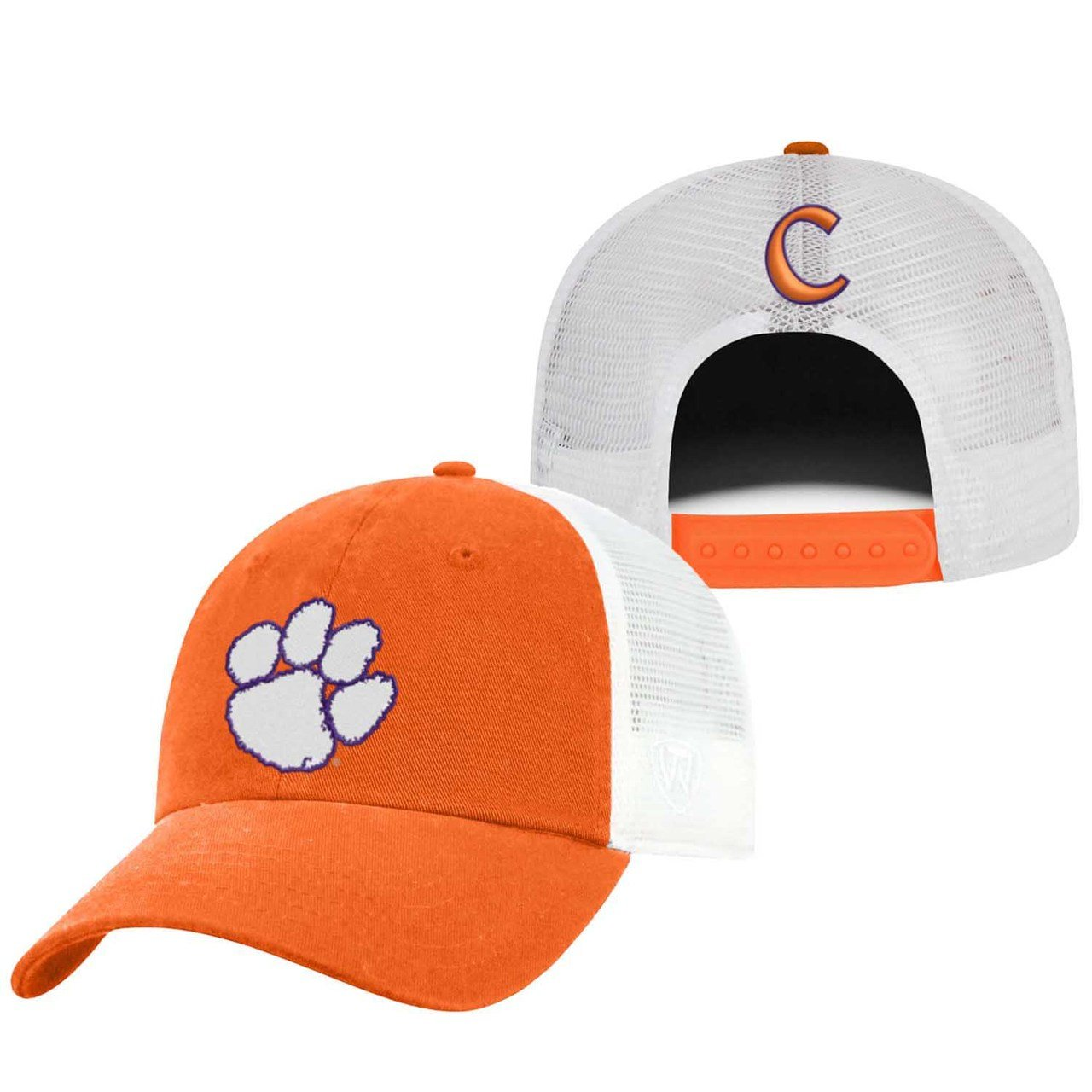 Top of the World Clemson Tigers Adult NCAA Team Spirit Relaxed Fit Meshback Hat Team Color