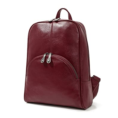 9b9dbfc82 Leyan Women's Soft Leather Purse Stylish Multi-purpose Tote Top Handle  Zippered Backpack School Bag Travel Handbag(Red): Amazon.in: Shoes &  Handbags