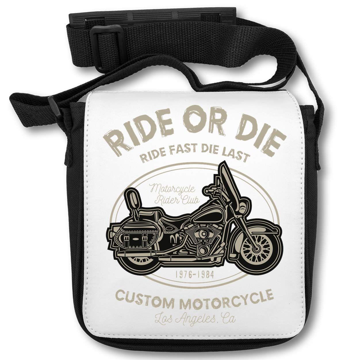 Ride Or Die Custom Motorcycle Los Angeles CA Sac d'épaule