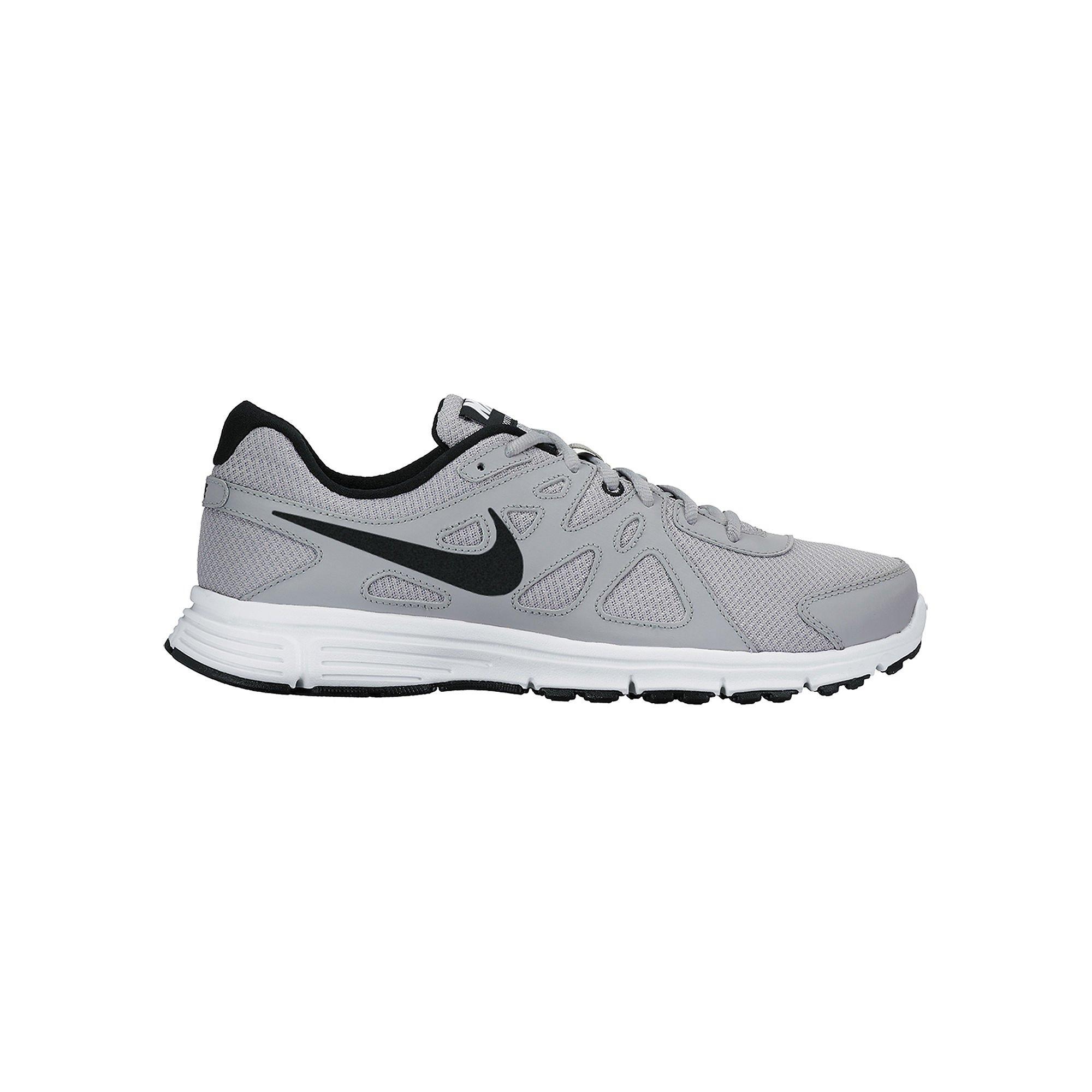 Nike Men's Revolution 2 Running Shoe Wolf Grey/Black/White Size 10 M US