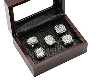 3a7c54750b1 Amazon.com   San Francisco 49ers Super Bowl Championship Rings Full ...