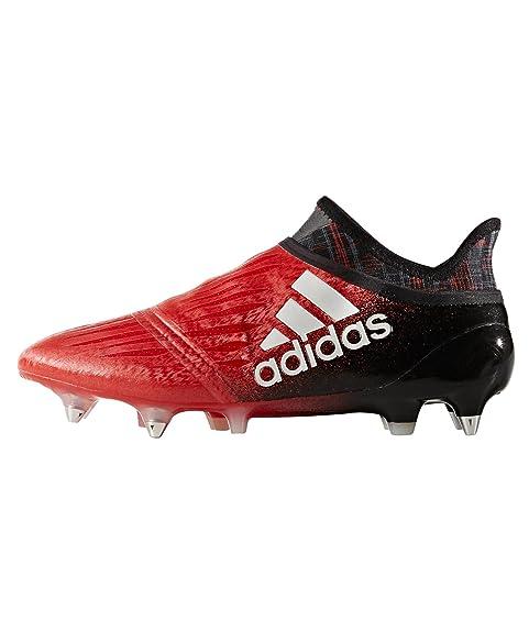 online retailer 02ae4 8e375 Bota X 16+ Purechaos FG Red-White-Core black Talla 10,5 UK  Amazon.es   Zapatos y complementos