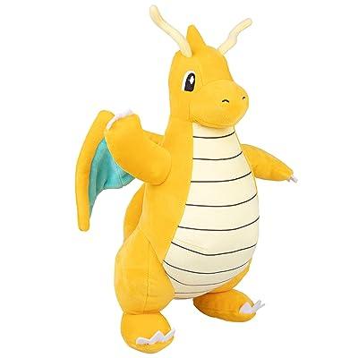 "PoKéMoN Dragonite Plush Stuffed Animal - Large 12"": Toys & Games"
