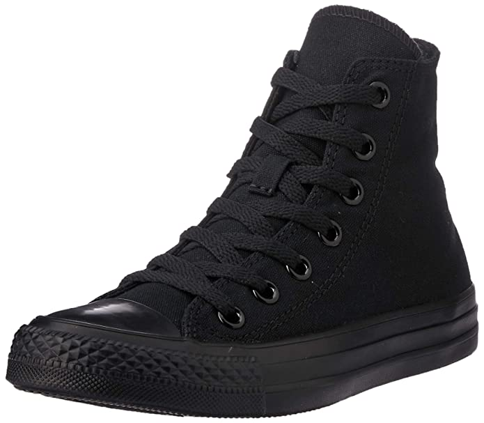 Converse Chuck Taylor All Star High Top Sneakers Damen Komplett Schwarz