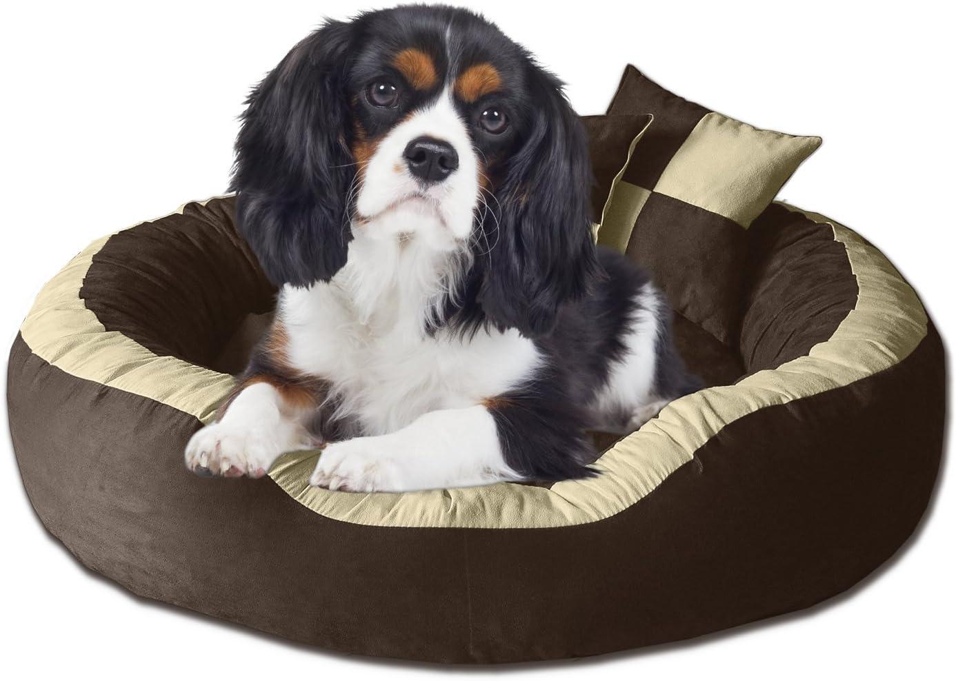 BedDog® PRINS Marron/Negro XL Aprox. 95x80cm colchón para Perro ...