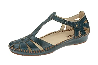 Vallarta Femmes Bleu blau 655 Sandalettes Pikolinos P 7434 1wPIpO