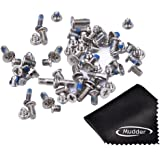 Mudder Full Screw Set Replacement with Bottom Pentalobe Screws for iPhone 6 4.7 Inch
