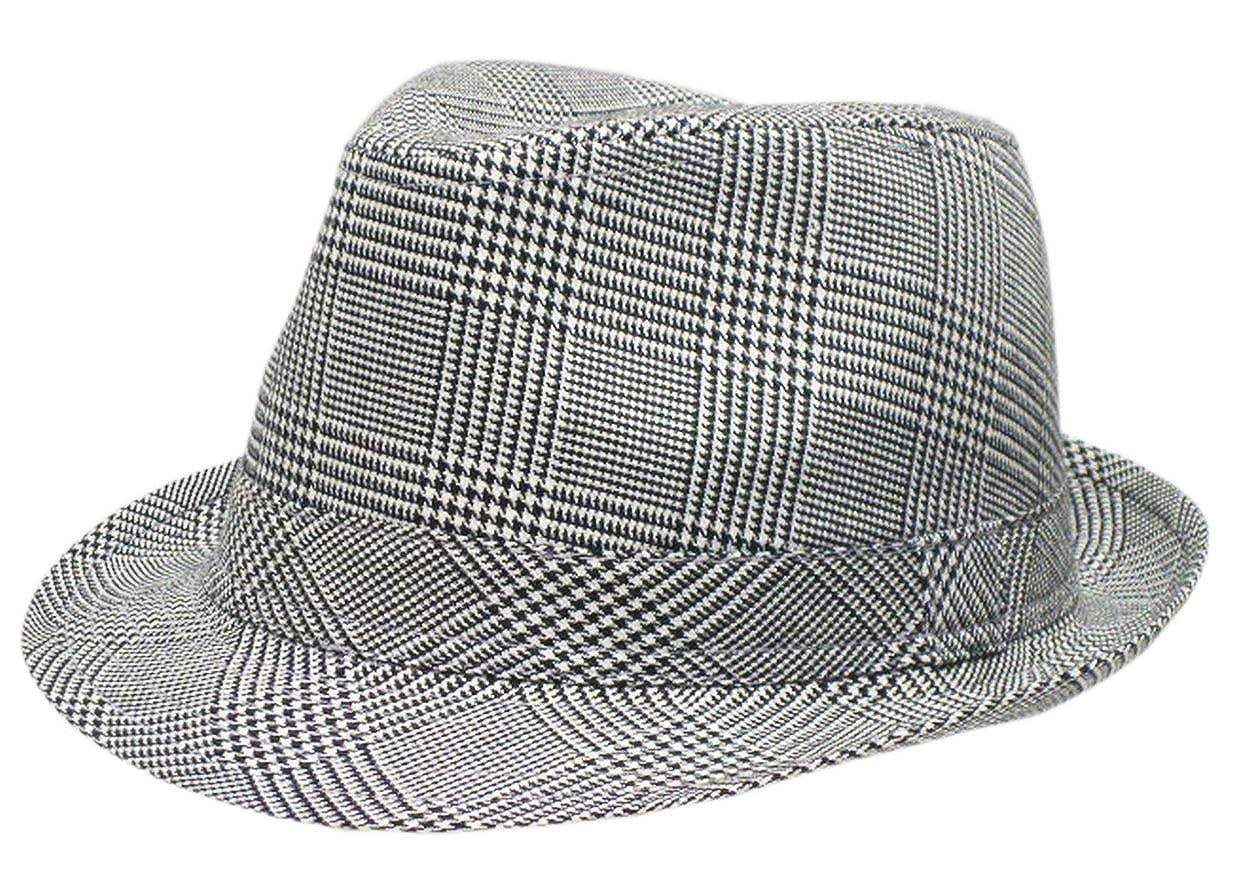 La Vogue Cotton Fedora Trilby Gangster Hat Sun Jazz Cap