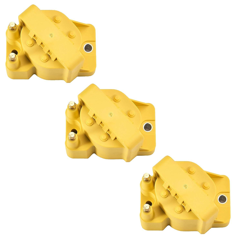ALLANTE Yellow Gold Cadillac Ignition Keys 1987 1988 1989 1990 1991