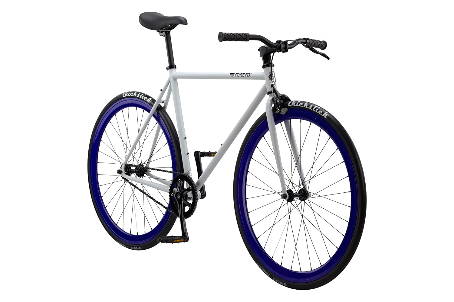 Pure Fix Cycles Fixed Gear Single Speed Urban Fixie Road Bike, 54cm