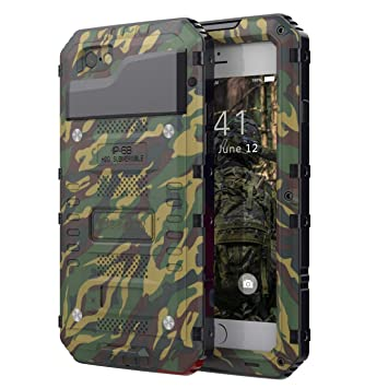 Beeasy Funda para iPhone 6 / 6S Antigolpes,Impermeable 360°Protección con Protector Pantalla,Rígida Robusta Antigravedad Carcasa Aifon 6S Impacto ...